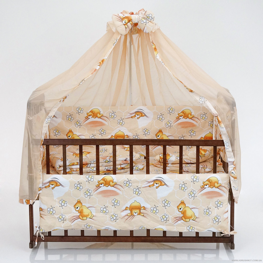 Детские кроватки без лака  фото №17