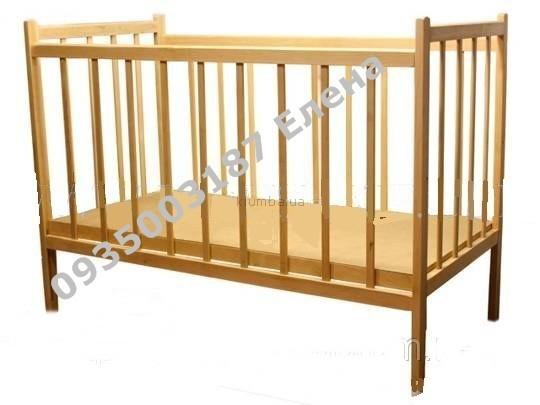 Детские кроватки без лака  фото №1
