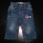 Продам утепленные Х/Б подкладкой джинсы early day 0-3 мес пояс-резинка состояние новых