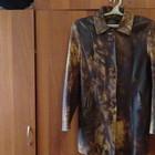 Куртка кожаная женская р-р 48-50