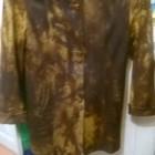 Куртка кожаная женская р р 48 50