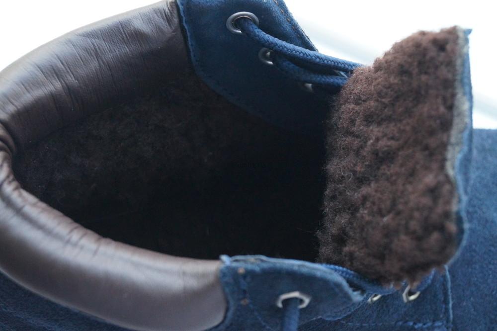 Ботинки женские зимние из натуральной замши, новые р, 35, 36, 37, 38, 39,40,41 фото №10