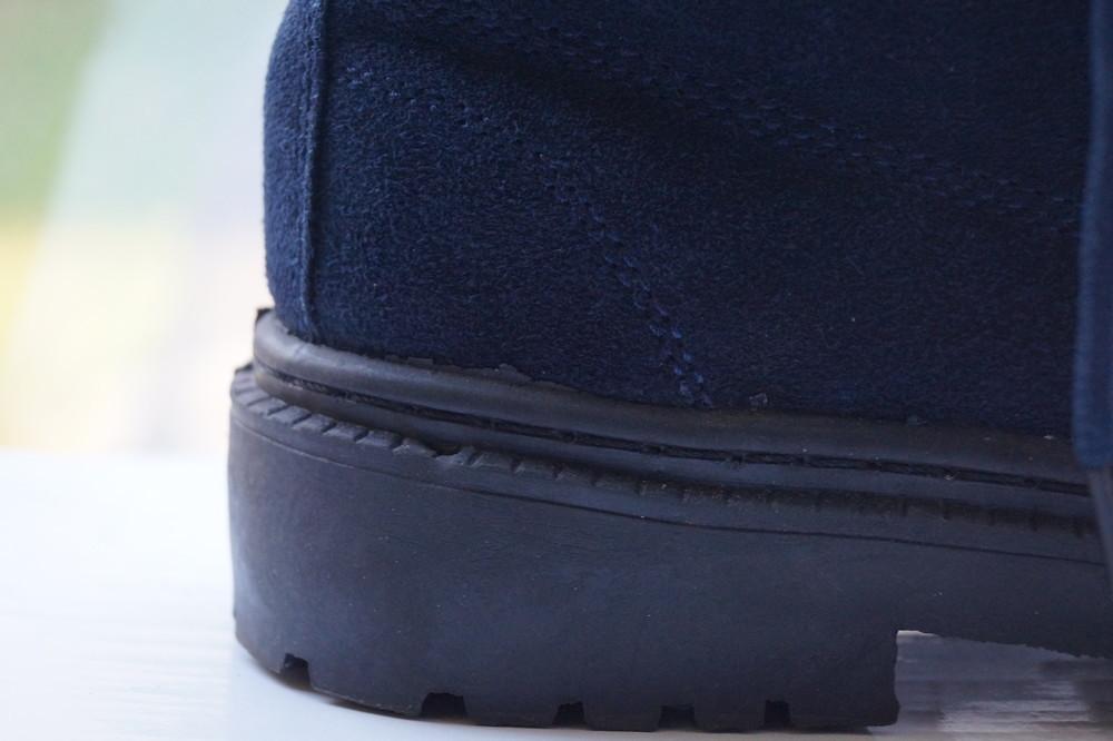 Ботинки женские зимние из натуральной замши, новые р, 35, 36, 37, 38, 39,40,41 фото №11