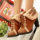 Стильные ботинки Осень 2014