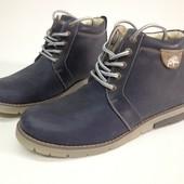 Зимние мужские ботинки Carbon размеры 40-45 №Tin