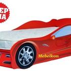 АКЦИЯ!Детская кровать машина Ягуар+матрас 3500грн