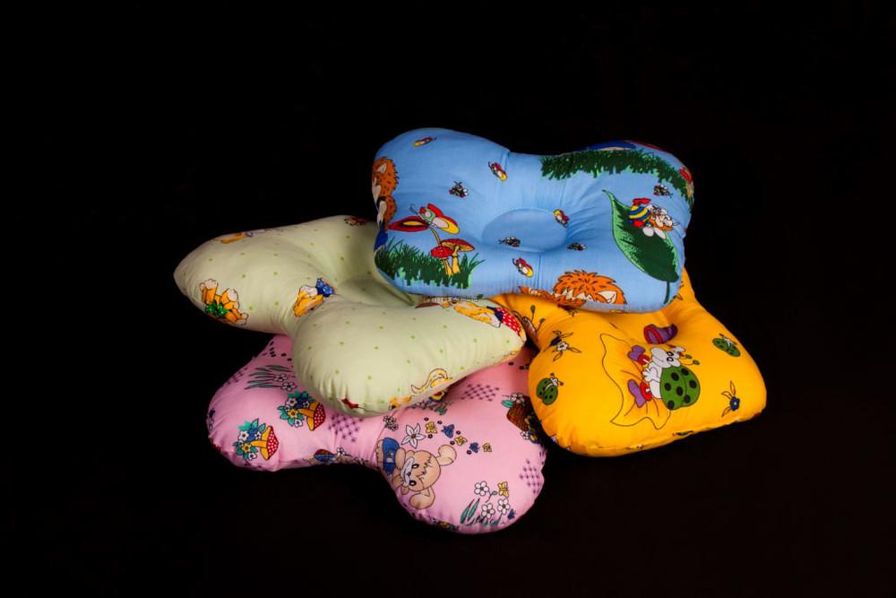 Ортопедическая подушка для новорожденных. Бабочка. фото №1