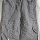 12-18 месяцев  86 Серые утепленные штаны с зайчиком для девочки