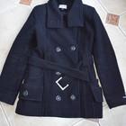 Черное осеннее пальто