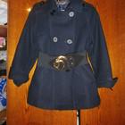 шерстяное фирменное пальто 42р