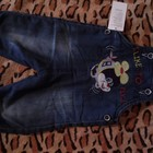 Комбинезон джинсовый на махре