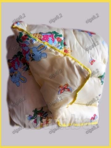 Одеяло и подушка. детское теплое. фото №2