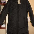 Пальто новое черное демисезонное  размер ХS (40-42)