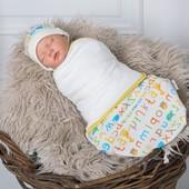 Евро - Пеленка кокон на липучках для новорожденных от 0-3 мес от Magbaby