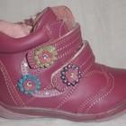 Демисезонные Ботинки для девочки KLF! Супер цена! Натуральная кожа!