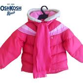 Курточка демисезон еврозима с шарфиком на 3-4 года, OshKosh Америка