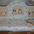 бампер бортики защита в детскую кроватку высокая защитное ограждение 360х40см. для кроватки