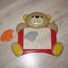 Магнитная доска-мишка для рисования