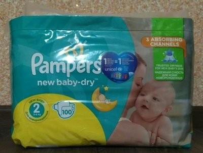 Подгузники Pampers Active Baby памперс актив беби 2 памперсы купить дада активы фото №1