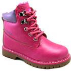 детские ботинки-зима для девочек