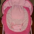 массажное кресло шезлонг для малышей