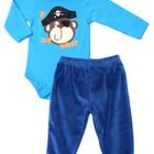 Комплект: бодик и штанишки со скидкой 5%, размер 74 см