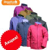 Курточки демисезонные (весна, осень) стеганные длинные детские, бренд Regatta Англия