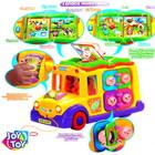 Школьный автобус ТМ Huile Toys — многофункциональная музыкальная развивающая игрушка