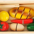 """Игра  деревянная """"Разрезанные продукты"""". Мир деревянных игрушек"""