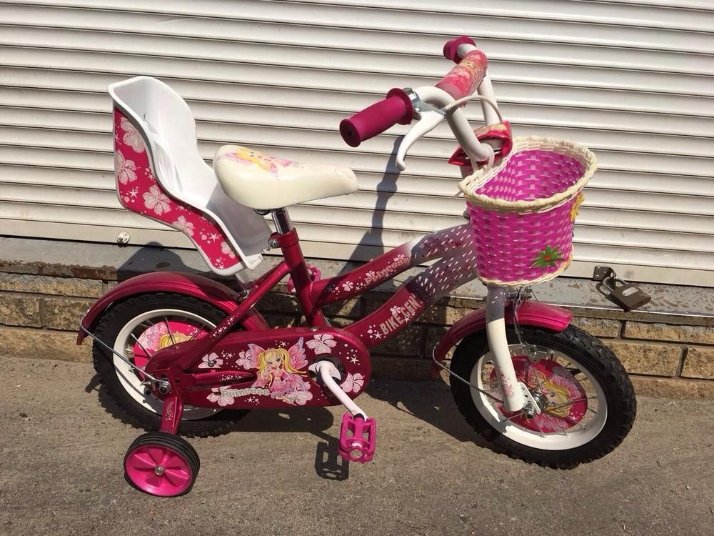 Детский двухколесный велосипед Princess Принцессы на 12 д фото №1