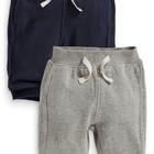 Набор из двух пар стеганых спортивных брюк, размер 6-9 мес