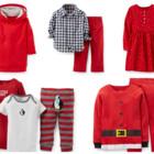 Новогодние комплекты, платья, пижамы Carters