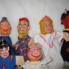 Куклы для кукольного театра 30 см.