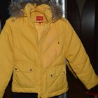 Желтая Куртка-пуховик SNOWIMAGE, Размер s/m. СРОЧНО,