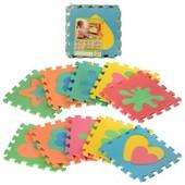 Детский Коврик Пазл мозаика для малышей