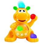 Игрушка - Гиппопотам- жонглер(звук)