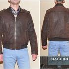 Мужская кожаная куртка BIAGGINI (M) б/у