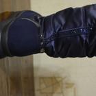 Дутики женские синие,черные,серые