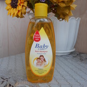 Мягкий шампунь детский Baby Care hair shampoo, Германия