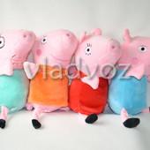 Семья Свинка Пеппа игрушка мягкая 24см.#2