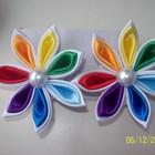 Райдужные цветочки резиночки