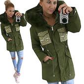 Зимняя куртка парка на меховой подкладке