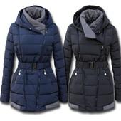Женский зимний пуховик,теплая куртка косуха пальто на холлофайбере,стильное пальто