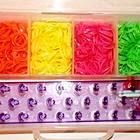 Резинки для плетения браслетов  Rainbow Loom Bands 1500шт оптом розница