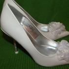 Красивые нежные свадебных/нарядные туфли Blossem, р. 35 или 37