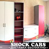 Детская комната Феррари (Ferrari) в разных цветах