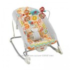 Кресло шезлонг Fisher-Price Deluxe infant-to-toddler rocker
