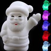 Мини светильник хамелеон Дед Мороз