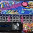 Резиночки для плетения браслетов LOOM BANDS 600шт+станок