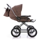 Универсальная коляска Roan Marita Lux B-sk коричневая/белая
